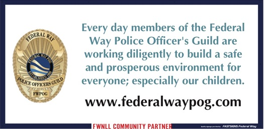 Federal Way POG supports Little League